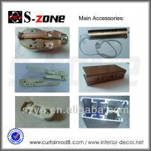 Volets à rideaux motorisés Accessoires de composants de rails intérieurs pour home cinéma