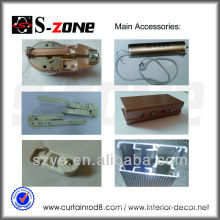 motorized curtain tracks home theater interior rails component accessories
