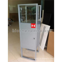 Merchandising Flooring Gafas Tienda Powered Plata Color Marco de Seguridad Ojos Gafas Display Case