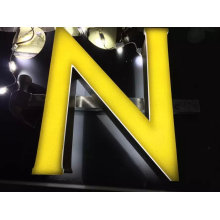 Outdoor Waterproof Shop Front Store Name Sign 3D LED Channel Letter Advertising Sign