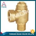 Haute précision spécialisée utilise laiton vanne d'arrêt de l'eau ni PTFE CE approuvé plein port avec motorisé forgé vanne de robinet d'électrodéposition