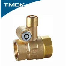 Forged Double lock ball valve Female BSP NPT Thread Valvula
