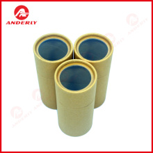Customized Kraft Tube Packaging with PVC Window