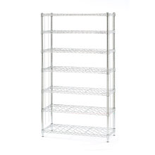 Novedad Adjustable Steel Metal botella de vino Display Rack, NSF aprobación