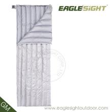 Sac de couchage élégant en mousseline de soie blanc