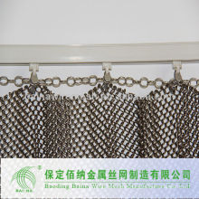 Decorative mesh (chain link fence)