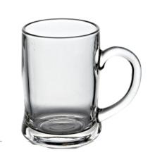 Taza de vidrio de cerveza 400ml con mango (BM046)