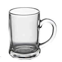 Mug de verre à bière 400ml avec poignée (BM046)