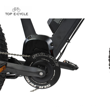 Бафане поделки BBS02 48 В 750 Вт середине приводного двигателя комплект двигателя для электрический велосипед 2018