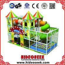 Equipo de juegos para niños en interiores para guardería