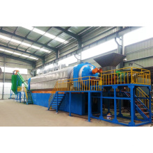 Gold supplier high quality Continuous automatic good price waste tyre pyrolysis recycling machine