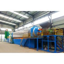 Fornecedor de ouro de alta qualidade Contínua automático bom preço resíduos de pneus máquina de reciclagem de pirólise