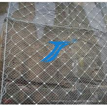 Rede de proteção de montanha, barreira de montanha.