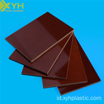 Bahan Isolasi Kain Katun Phenolic Laminated Panels