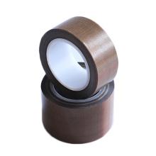 High temperature brown PTFE fiberglass adhesive tape