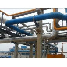 Tubo de fibra de vidro ou GRP para produtos químicos, água, salmoura, indústrias de esgoto