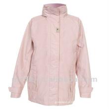 Casacos de casaco de nylon para mulheres