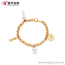 Xuping Fashion spécial Multicolor Jewelry Bracelet 73894