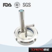 Vitrage de traitement de l'alimentation en acier inoxydable avec lumière (JN-SG1004)