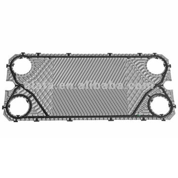 Swep GC26 related 316L plate heat exchanger plates and gaskets