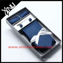 2013 новый галстук запонки hanky набор