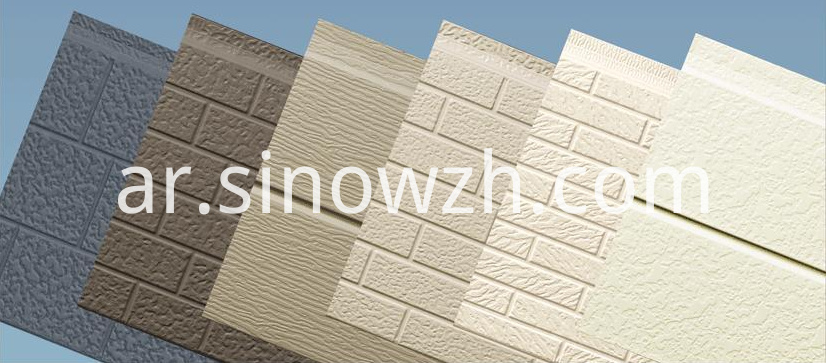 Pu Exterior Wall Decoration Panel