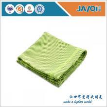 Pañuelo de tubo de cuello de toalla de enfriamiento de hielo verde