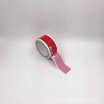 security VOID transfer tape/custom logo printed packing void tape