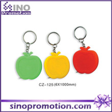 Custom Cute Funny Mini Retractable Tape Measure Keychain