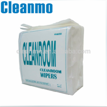 Disposable Spunlace Nonwoven Polycell / Polycellulose 55% Cellulose & 45% Polyester Cleanroom Wipes 0609