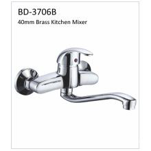 Bd3706b 40mm Brass Single Lever Kitchen Faucet