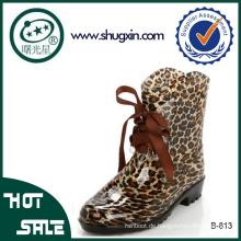 Stiefel Frauen Regen Stiefel billig Futsal Schuhe B-813