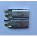 100mAh Li bateria de polímero para fones de ouvido Bluetooth (LP1X3T4)