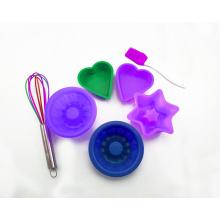7шт красочные формы для выпечки силиконовые формы для торта
