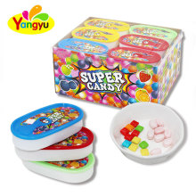 Super Caned Double Fruits Candy Sweet