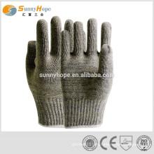 Перчатки из резины с арамидным волокном 7gauge