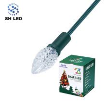 String de pixel de luz de Natal de decoração de Natal