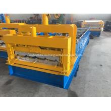 Máquina formadora de rollos de azulejos de acero frío