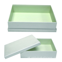 2PCS Top e Bottom Cosmetics Box com Ombro
