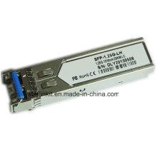 Émetteur-récepteur fibre optique SFP-1.25g-Lh tiers compatible avec les commutateurs Cisco