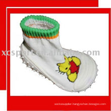 home/outdoor rubber sole baby shoe socks
