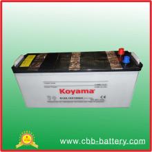 O fornecedor o mais competitivo de N120 12V120ah seca a auto bateria carregada / auto bateria