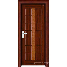 Porte intérieure en bois (LTS-303)