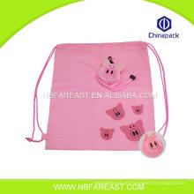 Hochwertige benutzerdefinierte Einkaufen neue Nylon Falttasche mit Tasche