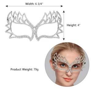 Wholesale Crystal Costume Ball Pageant Mask