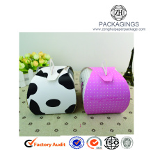 Customized paper cake packaging box for kids