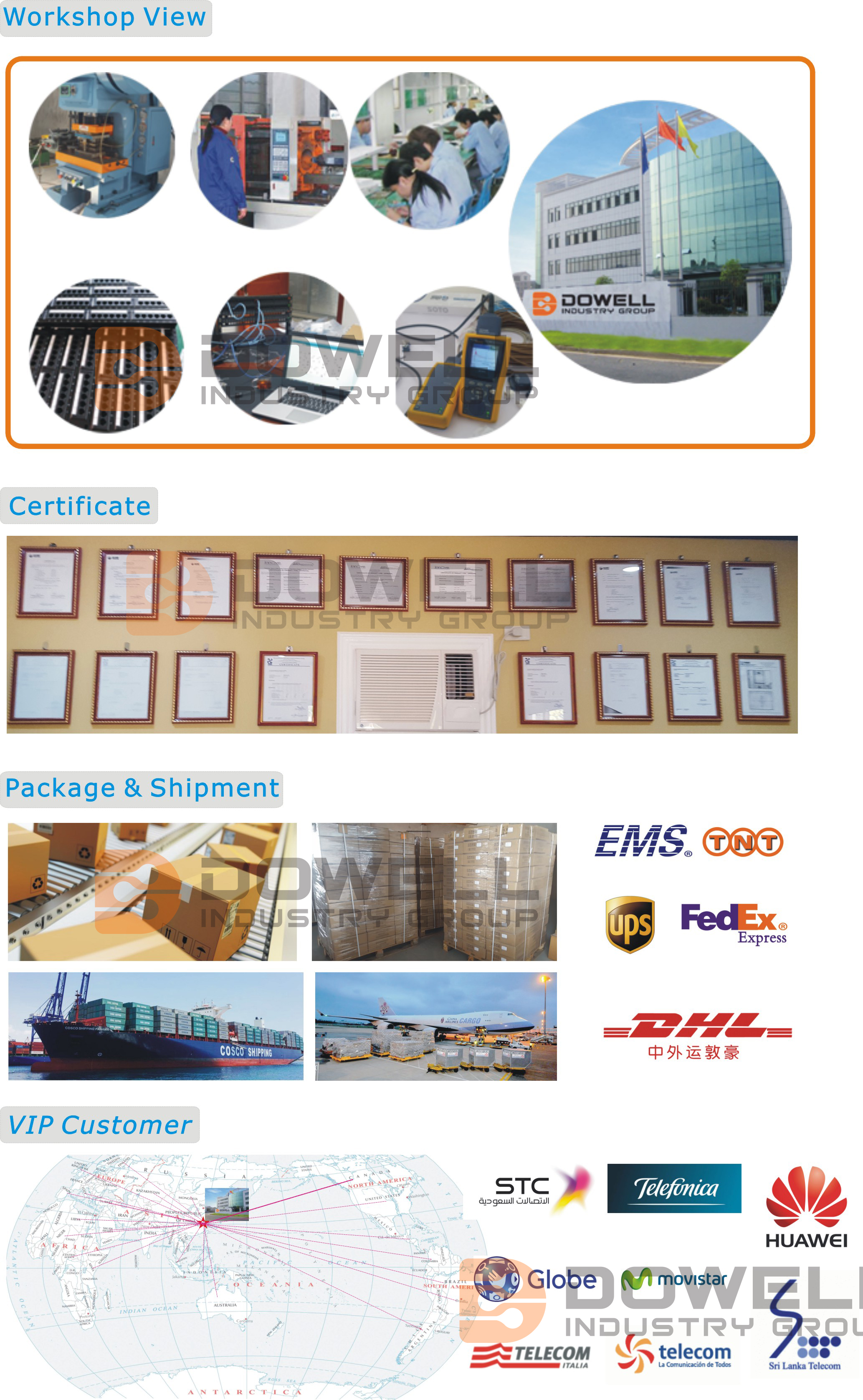 24 Port UTP Patch Panel factory
