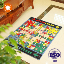 Eco-friendly nonwoven frabic living room custom logo mat