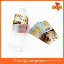 Customized pvc shrink sleeve label/heat shrink sleeve plastic label for bottle