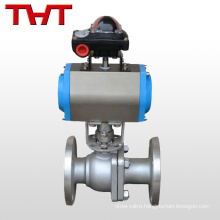 WCB pneumatic compression fitting ball valve